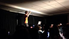 Lewis-Spears-drinks-windex-on-stage-at-the-melbourne-comedy-fest